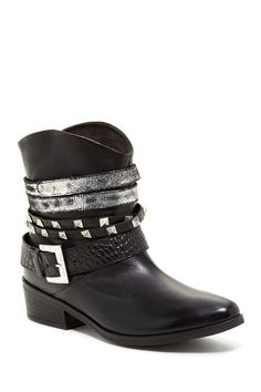Janet & Janet Polacco Multi Buckle Boot