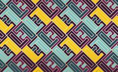 Pattern by Philippe Intraligi, via Behance