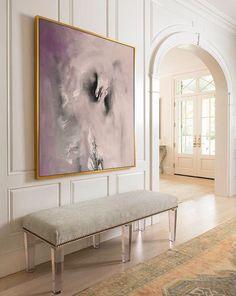 Large Abstract Painting Print On Canvas by Julia от juliakotenko