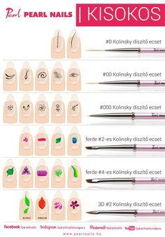 Home Nail Salon, Nail Salon Design, Nail Salon Decor, Acrylic Nails At Home, Acrylic Nail Shapes, Nail Painting Tips, Nail Tech School, Acryl Nails, One Stroke Nails