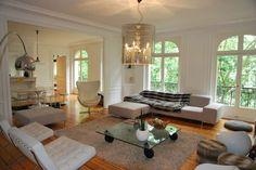 Retrouvez nos photos du relooking d\'un grand appartement haussmanien ...