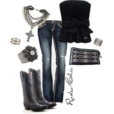"""Untitled #6"" by rodeo-chic on Polyvore"