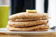 oatmeal pancakes — I'm made these at least 4 times! Delicious! -SEM