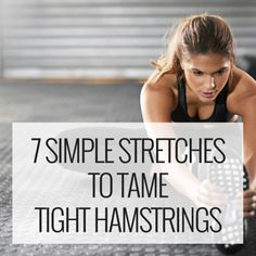 7 Simple Yoga Stretches to Tame Tight Hamstrings — The Online Yoga Studio Stretches For Tight Hamstrings, Hamstring Muscles, Stretches For Flexibility, Hamstring Stretches, Stretching, Online Yoga, Yoga Tips, Yoga Benefits, Best Yoga