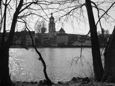 The river Main, in Kitzingen, Germany