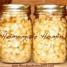 how to make hominy with wood ash