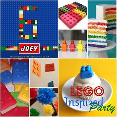 Lego Inspired Party #LegoDuploParty