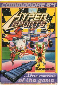 Hyper Sports (C64) #commodore #80s