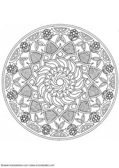 Free mandalas for colouring... my kids call them doilies :) Click on this link for more: http://www.edupics.com/coloring-pages-mandalas-c125.html
