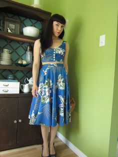 Butterflies and Daisys Vintage: Outfits: Aloha!