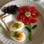 2016 Kahvaltı Süsleme Yontemleri