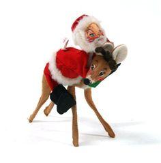 Have  annalee dolls    Annalee Dolls 1960 Christmas Cloth Decoration Figurines