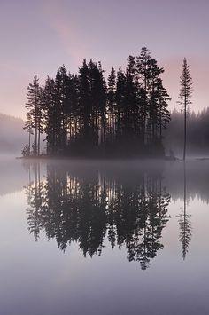 Reflection, Shiroka poliana dam, Bulgaria, by Simeon Simeonov, on 500px.