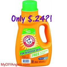 HOT! Arm & Hammer Laundry Detergent Only $.24 at Rite Aid?! | MY DIY ANGELS, DIY and Extreme Couponers