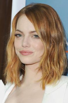 Emma Stone beauty evolution—May 2015