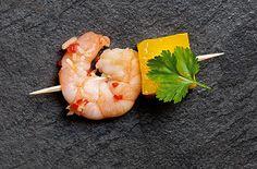 Thai ginger-cured prawns with mango - Tesco Real Food