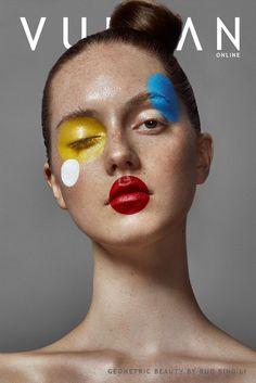 Geometric paint cover I Carnival Halloween Carnival Carnival Costume Covering . - fotografia - Make-Up Makeup Inspo, Makeup Inspiration, Beauty Makeup, Eye Makeup, Makeup Ideas, Fairy Makeup, Mermaid Makeup, Style Inspiration, Make Up Art