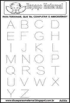 Free Kindergarten Worksheets, 1st Grade Worksheets, Letter Activities, Activities For Kids, Baby Mickey, Gabriel, Alphabet, Homeschool, Lettering