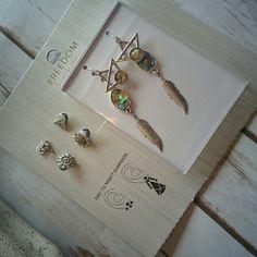 Multi wear ear jacket style earrings So unique and can be worn multiple ways. Topshop Jewelry Earrings