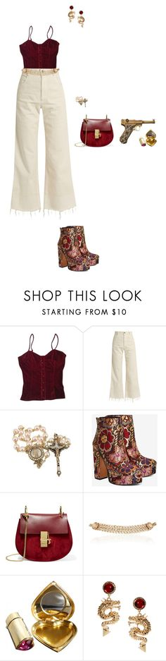 """""""Untitled #399"""" by iris-roijen ❤ liked on Polyvore featuring Wet Seal, Rachel Comey, Shellys, Chloé, Maison Mayle, Yves Saint Laurent and ASOS"""