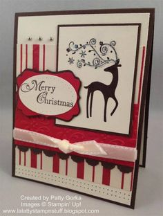 Christmas Dasher by LaLatty - Cards and Paper Crafts at Splitcoaststampers