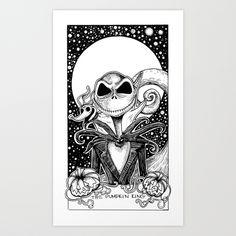 Jack Skellington Nightmare Before Christmas The Pumpkin King Tarot ...