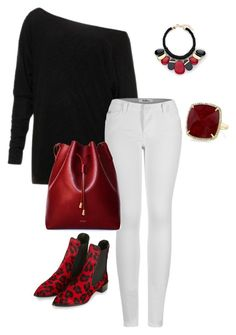 """""""Bez naslova #8"""" by semiragoletic ❤ liked on Polyvore featuring 2LUV, Topshop, Anne Sisteron and Chico's"""