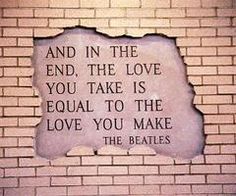 another good Beatles quote.
