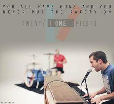 Twenty One Pilots... So seeing them next Thursday! CAN'T WAIT!!!!!