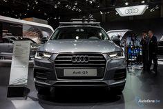 Live in Brussel 2015: Audi Q3 Facelift