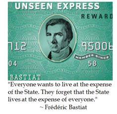 Frédéric Bastiat on Politics #quotes