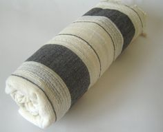 Extra Soft and Absorbant Turkish Bath Towel by TheAnatolian Textile Prints, Textiles, Turkish Bath Towels, Spa Towels, Beach Towel, Black Stripes, Traditional, Bathroom, Elegant
