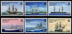 British Indian Ocean Territory Seafaring & Exploration Stamps