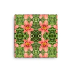 Tiger Lily Reflections Canvas