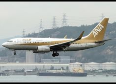 Boeing | 737-781 | All Nippon Airways (Air Nippon) | JA02AN | Golden Jet | Hong Kong | HKG | VHHH by Christian Junker | PHOTOGRAPHY, via Flickr