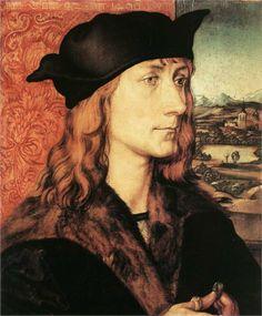 Albrecht Durer - Portrait of Hans Tucher (1499)
