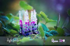 #beads #crown #newborn #princess #violet #lila
