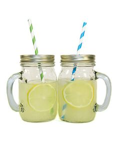 Would like a set of these for everyday!  Take a look at this Mason Jar Mug - Set of 12 by ACME Party Box Company on #zulily today!