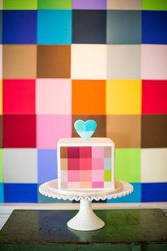 Just Pretty: Pixel Perfect - Cheezburger Bricks cube also