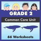 66 worksheet pack for second grade ensures that your students have covered every single Grade 2 Common Core State Standard (CCSS).