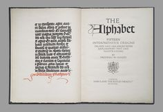 Frederic W Goudy - Alphabet - Fig2 by Eye magazine, via Flickr