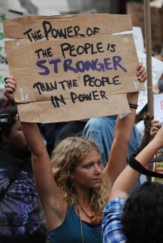 The power of the people is stronger than the people in power. ~Sayings #power #people #strength #quotes