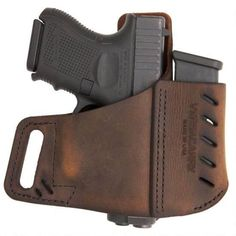 Shop VersaCarry Commander OWB Holster With Magazine Carrier Size 3 Right Hand Leather Brown 62103 and more from Cheaper Than Dirt! Pistol Holster, Leather Holster, Revolver, Edc, S&w Shield, Concealed Carry Holsters, Guns And Ammo, Leather Working, Leather Craft