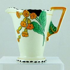 Independent Art Deco Burleigh Ware Dragon Jug Figural Jug Super Item Circa 1920s Cool In Summer And Warm In Winter China & Dinnerware Pottery & Glass