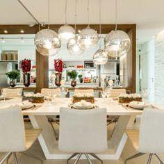 CYRELA_Varanda Tatuapé 102m²: Salas de jantar clássicas por Chris Silveira & Arquitetos Associados