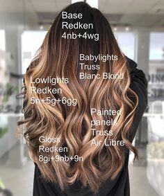 Brown Ombre Hair, Ash Blonde Hair, Ombre Hair Color, Hair Color Balayage, Haircolor, Hair Color And Cut, Hair Color Shades, Redken Hair Color, Hair Color Formulas