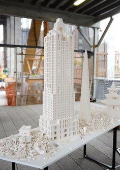 Lego Installation by Olafur Eliasson