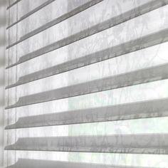 Made to measure Sheer Horizon Blinds For Your Windows   Illumin8 Blinds   Moriah Grey Closeup