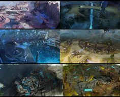 I did so much stuff for the game that I could only nitpick a few selections to show the variety of work I helped on. Really the tip of the iceberg here.  Halo Wars 2 Property of Microsoft/343/Creative Assembly