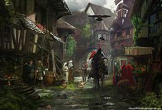 Nice Town. It'd Be A Shame If Something Happened To It. Rhys Griffiths is a freelance concept artist and illustrator